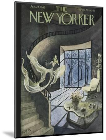 The New Yorker Cover - January 22, 1949-Mary Petty-Mounted Premium Giclee Print