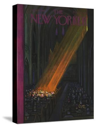 The New Yorker Cover - April 16, 1949-Arthur Getz-Stretched Canvas Print