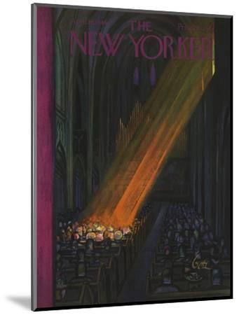 The New Yorker Cover - April 16, 1949-Arthur Getz-Mounted Premium Giclee Print
