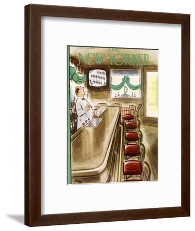 The New Yorker Cover - March 19, 1955-Leonard Dove-Framed Premium Giclee Print
