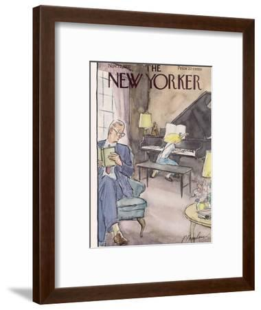 The New Yorker Cover - November 12, 1955-Perry Barlow-Framed Premium Giclee Print