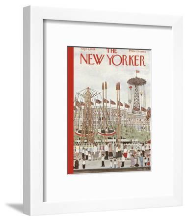 The New Yorker Cover - September 6, 1958-Vestie E. Davis-Framed Premium Giclee Print