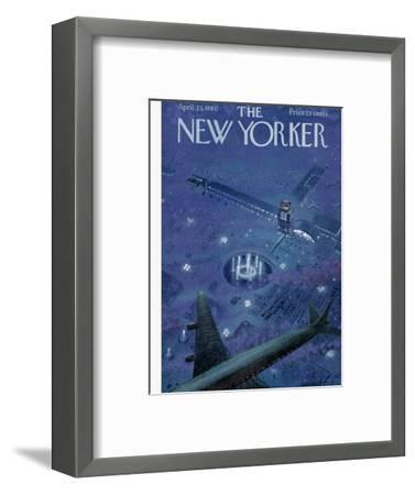 The New Yorker Cover - April 23, 1960-Garrett Price-Framed Premium Giclee Print
