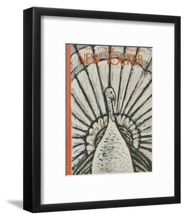 The New Yorker Cover - November 26, 1960-Abe Birnbaum-Framed Premium Giclee Print