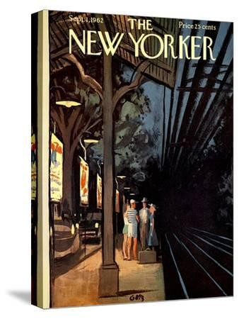 The New Yorker Cover - September 1, 1962-Arthur Getz-Stretched Canvas Print