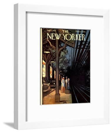 The New Yorker Cover - September 1, 1962-Arthur Getz-Framed Premium Giclee Print
