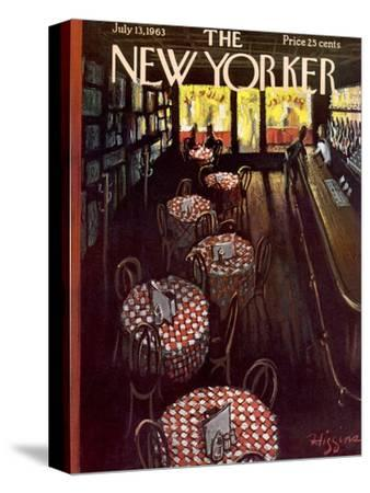 The New Yorker Cover - July 13, 1963-Donald Higgins-Stretched Canvas Print