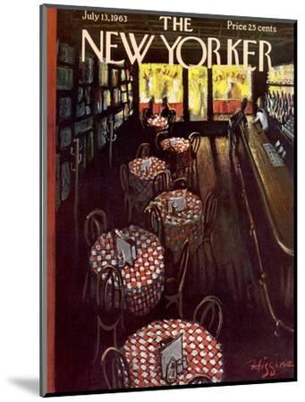 The New Yorker Cover - July 13, 1963-Donald Higgins-Mounted Premium Giclee Print