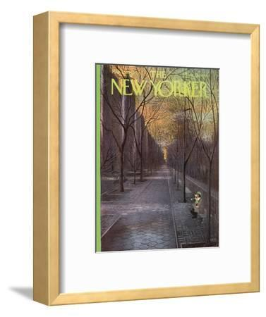 The New Yorker Cover - March 13, 1965-Charles E. Martin-Framed Premium Giclee Print