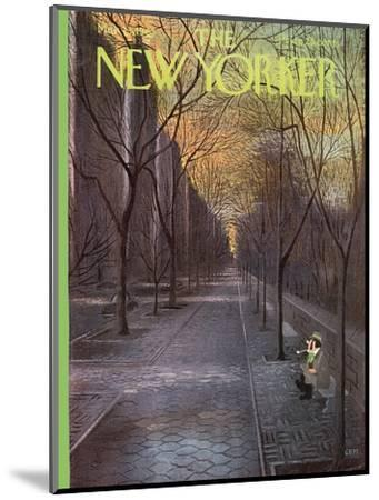The New Yorker Cover - March 13, 1965-Charles E. Martin-Mounted Premium Giclee Print