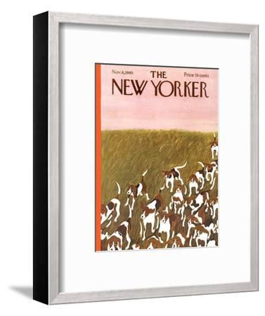 The New Yorker Cover - November 6, 1965-Ilonka Karasz-Framed Premium Giclee Print