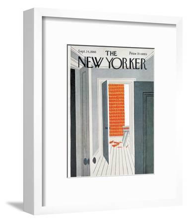 The New Yorker Cover - September 24, 1966-Charles E. Martin-Framed Premium Giclee Print