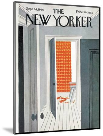 The New Yorker Cover - September 24, 1966-Charles E. Martin-Mounted Premium Giclee Print