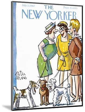 The New Yorker Cover - July 22, 1967-Peter Arno-Mounted Premium Giclee Print