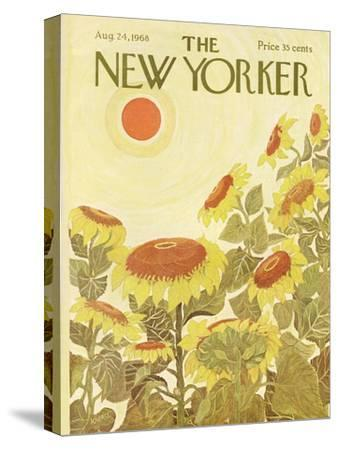 The New Yorker Cover - August 24, 1968-Ilonka Karasz-Stretched Canvas Print