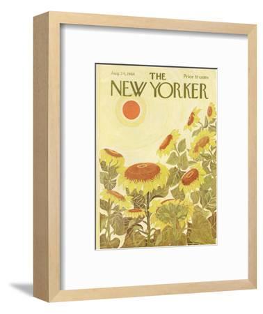 The New Yorker Cover - August 24, 1968-Ilonka Karasz-Framed Premium Giclee Print