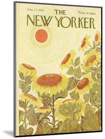 The New Yorker Cover - August 24, 1968-Ilonka Karasz-Mounted Premium Giclee Print