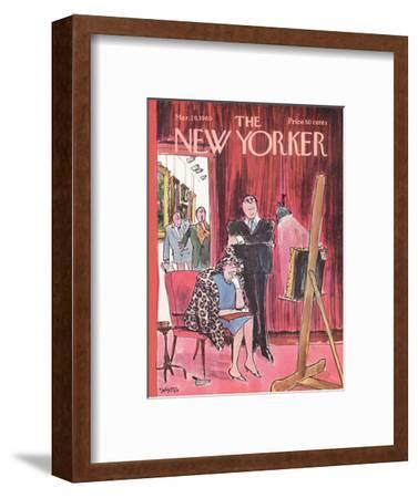 The New Yorker Cover - March 29, 1969-Charles Saxon-Framed Premium Giclee Print
