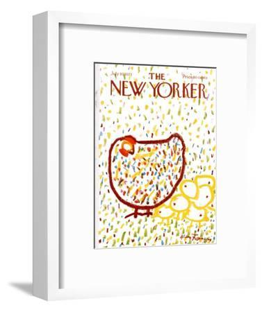The New Yorker Cover - July 10, 1971-Andre Francois-Framed Premium Giclee Print