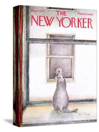The New Yorker Cover - May 12, 1973-Andre Francois-Stretched Canvas Print