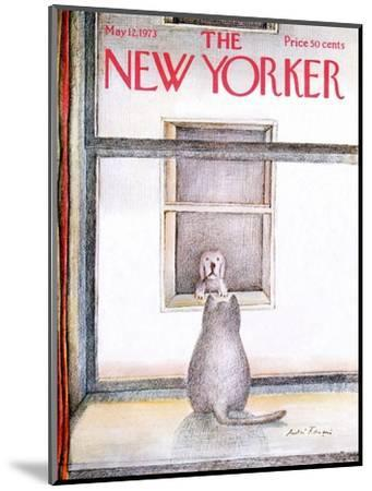 The New Yorker Cover - May 12, 1973-Andre Francois-Mounted Premium Giclee Print