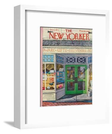 The New Yorker Cover - July 8, 1974-Albert Hubbell-Framed Premium Giclee Print