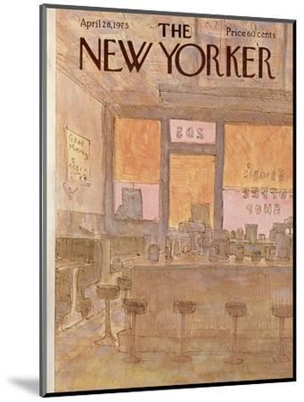 The New Yorker Cover - April 28, 1975-James Stevenson-Mounted Premium Giclee Print