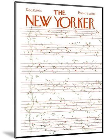 The New Yorker Cover - December 15, 1975-James Stevenson-Mounted Premium Giclee Print
