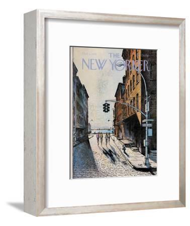 The New Yorker Cover - October 2, 1978-Arthur Getz-Framed Premium Giclee Print