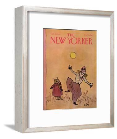 The New Yorker Cover - October 30, 1978-William Steig-Framed Premium Giclee Print