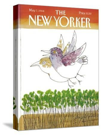The New Yorker Cover - May 7, 1984-Joseph Low-Stretched Canvas Print
