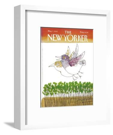 The New Yorker Cover - May 7, 1984-Joseph Low-Framed Premium Giclee Print