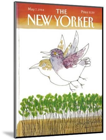 The New Yorker Cover - May 7, 1984-Joseph Low-Mounted Premium Giclee Print