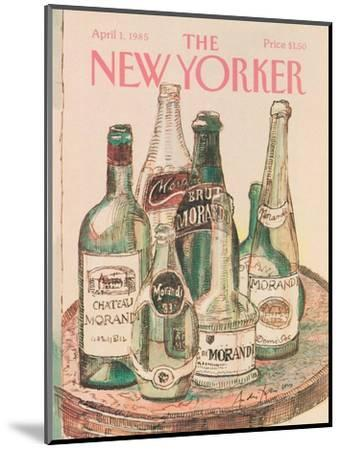 The New Yorker Cover - April 1, 1985-Andre Francois-Mounted Premium Giclee Print