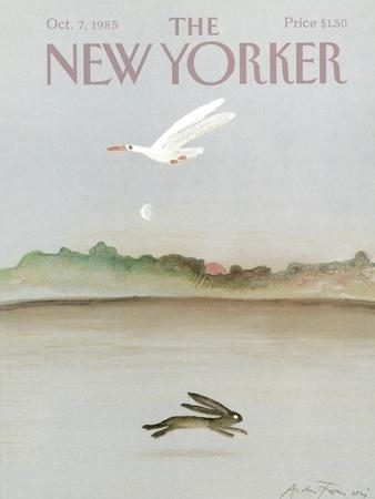 The New Yorker Cover - October 7, 1985-Andre Francois-Premium Giclee Print