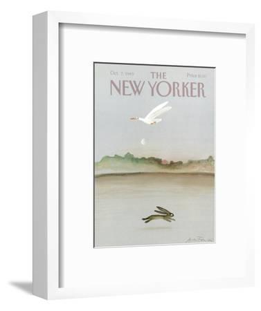 The New Yorker Cover - October 7, 1985-Andre Francois-Framed Premium Giclee Print