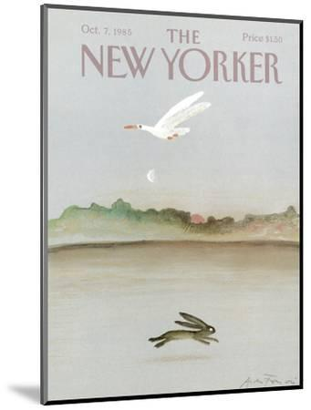 The New Yorker Cover - October 7, 1985-Andre Francois-Mounted Premium Giclee Print