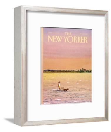 The New Yorker Cover - June 16, 1986-Susan Davis-Framed Premium Giclee Print