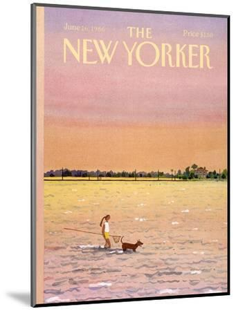 The New Yorker Cover - June 16, 1986-Susan Davis-Mounted Premium Giclee Print