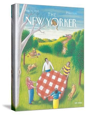 The New Yorker Cover - August 31, 1992-Bob Knox-Stretched Canvas Print