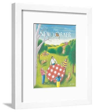 The New Yorker Cover - August 31, 1992-Bob Knox-Framed Premium Giclee Print