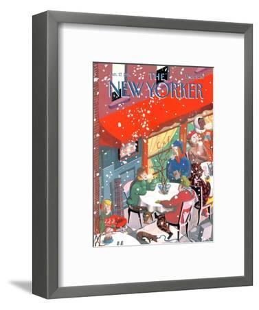 The New Yorker Cover - January 17, 1994-Kathy Osborn-Framed Premium Giclee Print