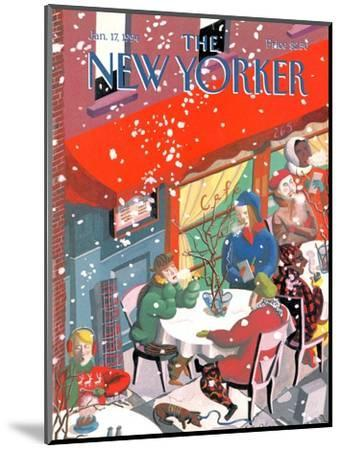 The New Yorker Cover - January 17, 1994-Kathy Osborn-Mounted Premium Giclee Print