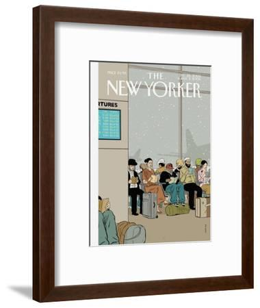 The New Yorker Cover - December 26, 2005-Adrian Tomine-Framed Premium Giclee Print