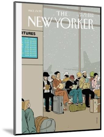 The New Yorker Cover - December 26, 2005-Adrian Tomine-Mounted Premium Giclee Print
