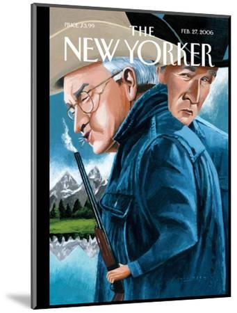 The New Yorker Cover - February 27, 2006-Mark Ulriksen-Mounted Premium Giclee Print