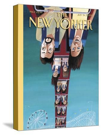 The New Yorker Cover - July 24, 2006-Mark Ulriksen-Stretched Canvas Print