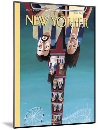 The New Yorker Cover - July 24, 2006-Mark Ulriksen-Mounted Premium Giclee Print
