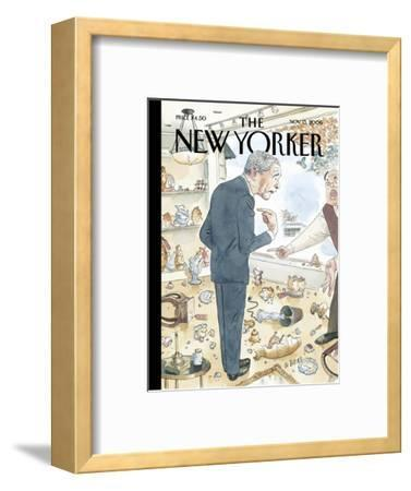 The New Yorker Cover - November 13, 2006-Barry Blitt-Framed Premium Giclee Print