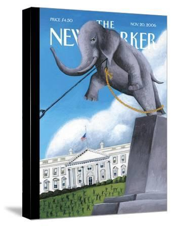 The New Yorker Cover - November 20, 2006-Mark Ulriksen-Stretched Canvas Print